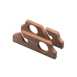 Whitecap Teak Two-Rod Storage Rack-Pair - 60610