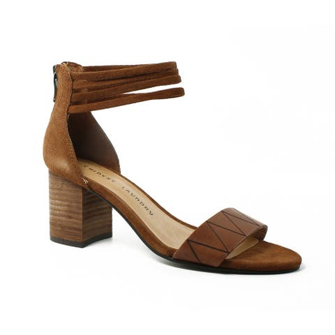 1482381b9 Chinese Laundry Womens Rylansplitsuede CinnamonSuede Sandals Size 6.5