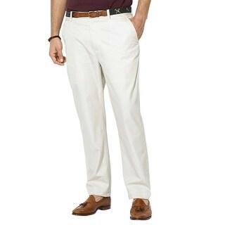 Polo Ralph Lauren Linen Pants 38x30 Classic Fit White Flat Front Preston