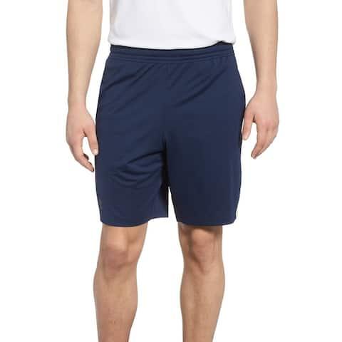 Under Armour Women's Blue Green Size XXL Mesh Stripe Athletic Shorts