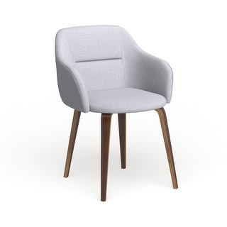 Link to Carson Carrington Tampere Mid-Century Modern Walnut Wood Upholstered Chair Similar Items in Accent Chairs