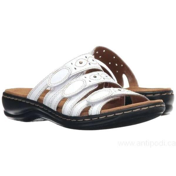 6d506a6133b0a Shop CLARKS Womens leisa cacti q Open Toe Casual Slide Sandals ...