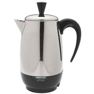 Electrics Millenium Automatic Stainless Steel Coffee Percolator -