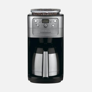 Cuisinart DGB-900BCFR Burr Grind and Brew Thermal 12 Cup Automatic Coffeemaker, Brushed Chrome, Certified Refurbished
