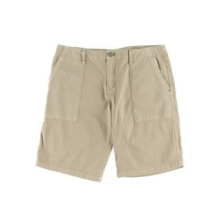 Sanctuary Womens Twill Solid Bermuda Shorts