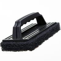"""Grillmark 71448A Scrubber With Plastic Handle, 8"""" x 3.5"""""""
