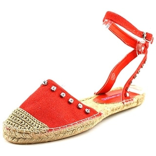 C Label Adler-6 Women Round Toe Synthetic Red Espadrille