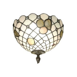 """Dale Tiffany TH70107 8"""" One Light Newport Wall Sconce"""