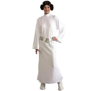 Rubie's Womens Princess Leia Star Wars Costume Halloween Party - o/s