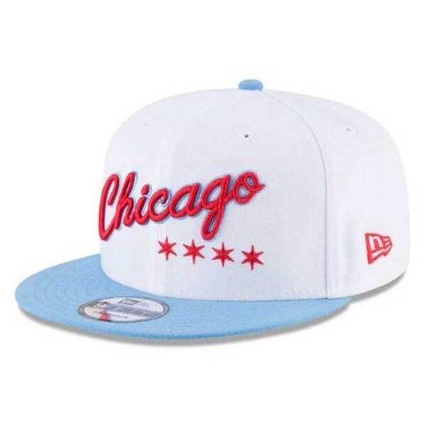 0aecfe789 Shop New Era NBA City Series Chicago Bulls 9Fifty Snapback Hat Cap ...
