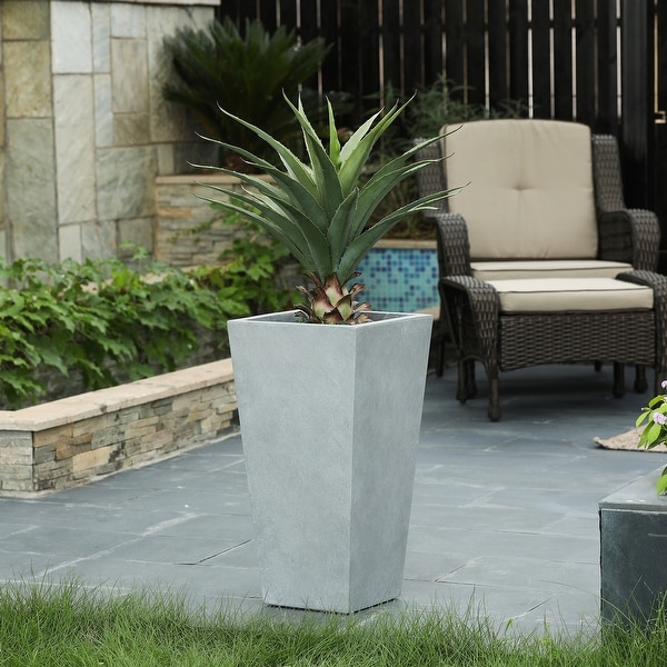 MgO Tall Tapered Square Planter. Opens flyout.