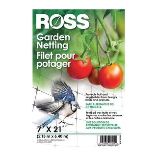 Ross 15544 Garden Netting, 7' x 21'