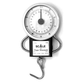 Eagle Claw Tool Dial Scale w/Tape Measure