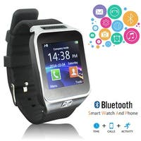 Indigi® HOT 2-in-1 SmartWatch & Phone - [Call & Text Reminder - Bluetooth 4.0 - Built-In Camera]