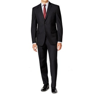 Marc New York Andrew Marc NEW Black Mens Size 40 Two Button Suit Set