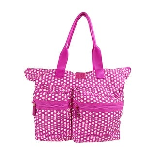 Tommy Hilfiger Active Nylon Extra Large Tote, Pink/White Dots - Pink Dots - One size