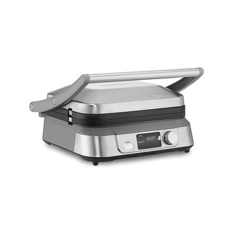 Cuisinart GR-5B Griddler Five Electric Griddle, Silver
