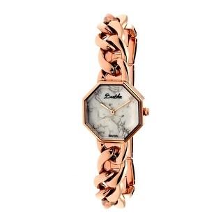 Bertha Ethel Women's Quartz Watch, Stainless Steel Band