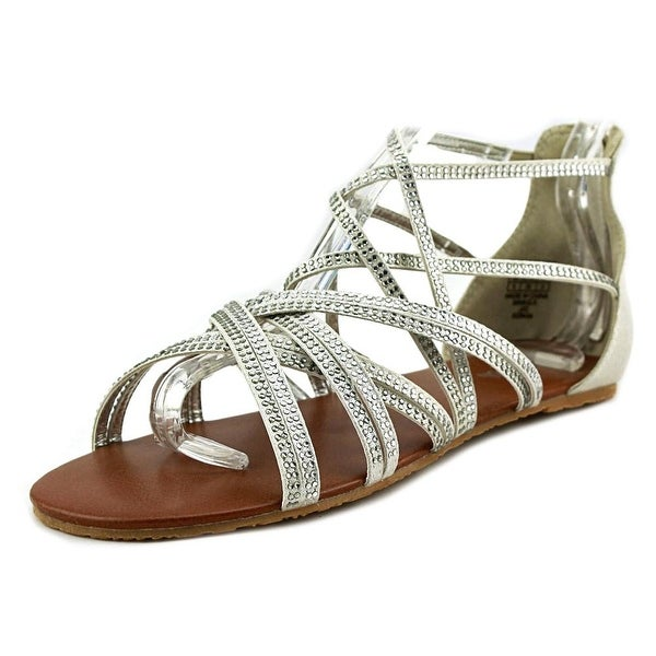 Kenneth Cole Reaction Daisy Shimmer Open Toe Synthetic Sandals