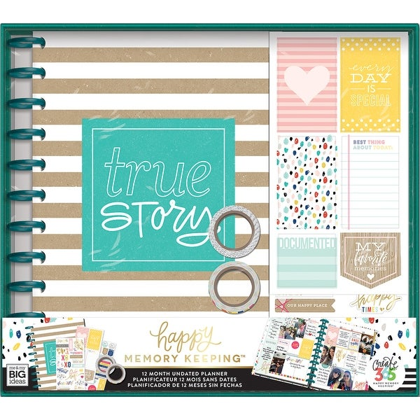 shop create 365 12 month planner box kit true story free shipping
