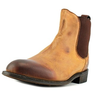 Independent Boot Company Pierce    Round Toe Leather  Ankle Boot