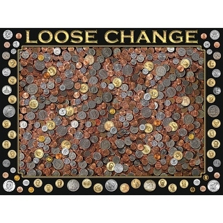 """Jigsaw Puzzle 550 Pieces 18""""X24""""-Loose Change"""