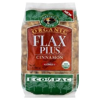 Nature's Path Organic Flax Plus Cereal - Cinnamon - Case of 6 - 32 oz.