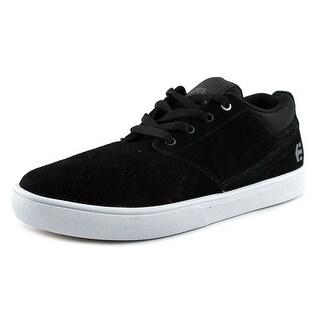 Etnies Jameson MT Men Round Toe Suede Black Sneakers