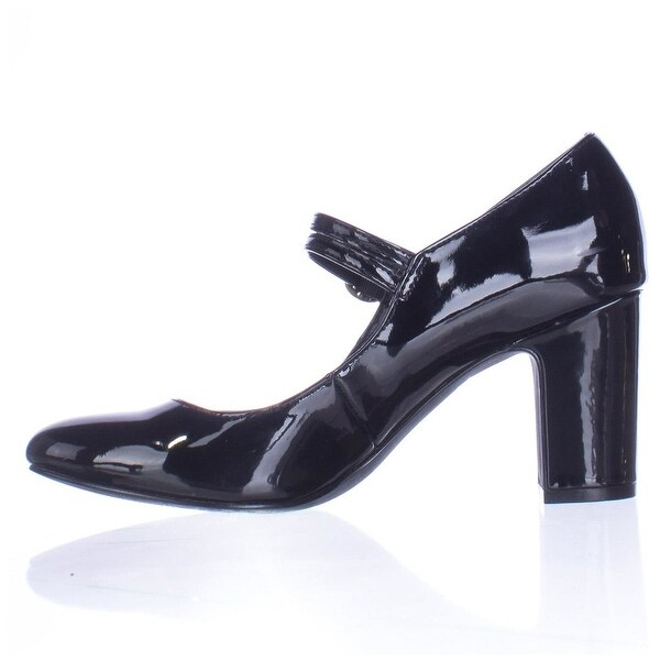 Alfani Womens HILLAREE Closed Toe Ankle Strap, Black, Size 11.0
