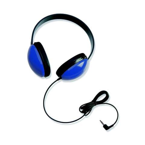Califone Listening First Stereo Headphones for Kids (Blue / Set of 3)