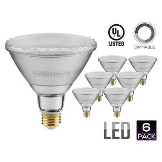 PAR38 LED Light Bulb, 15W (120W Equivalent), 2700K Soft White/5000K Daylight, Spot Light|https://ak1.ostkcdn.com/images/products/is/images/direct/d14bd9651059c8510e31ef5827c9558983511fae/PAR38-LED-Light-Bulb%2C-15W-%28120W-Equivalent%29%2C-2700K-Soft-White-5000K-Daylight%2C-Spot-Light.jpg?impolicy=medium
