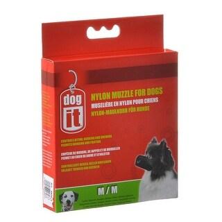 """Dog It Nylon Muzzle for Dogs Medium - (5.5"""" Long)"""
