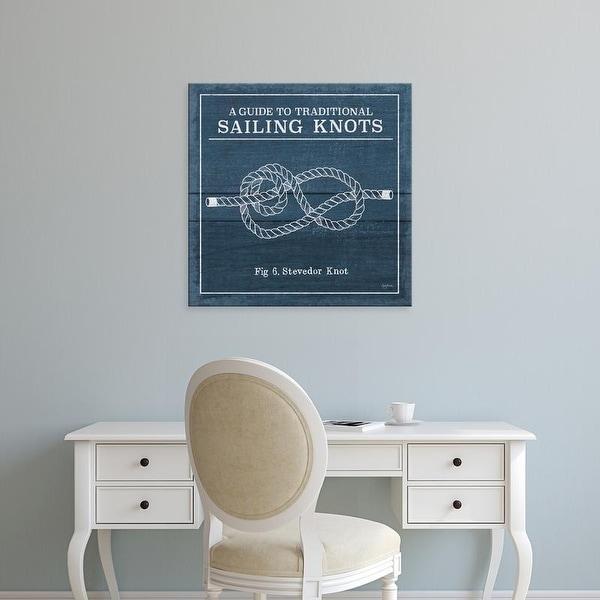 Easy Art Prints Mary Urban's 'Vintage Sailing Knots VI' Premium Canvas Art