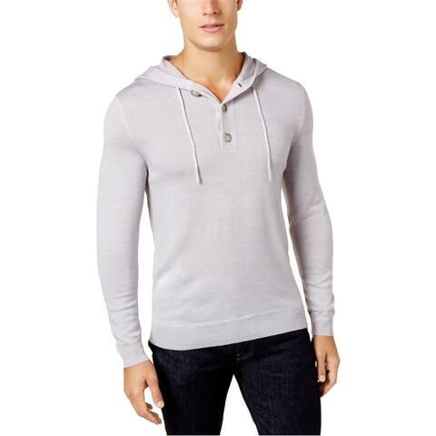 Club Room Mens Soft Knit Hoodie Sweatshirt