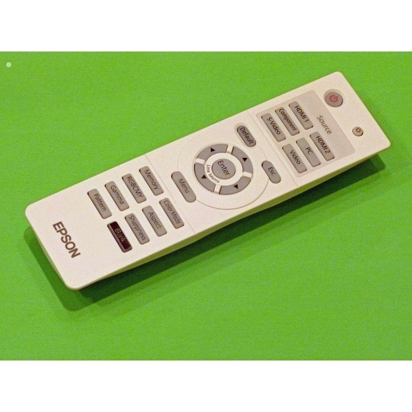 Epson Remote Control Shipped With: V11H291120 V11H292020 V11H336120, V11H416720