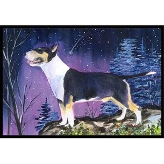 Carolines Treasures SS8344MAT 18 x 27 in. Bull Terrier Indoor Outdoor Doormat