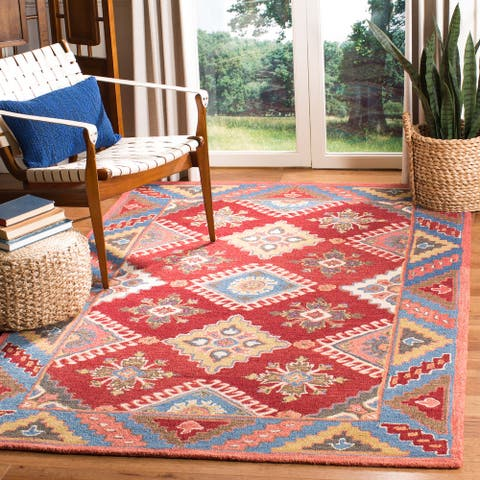 Safavieh Handmade Aspen Lucia Boho Tribal Wool Rug