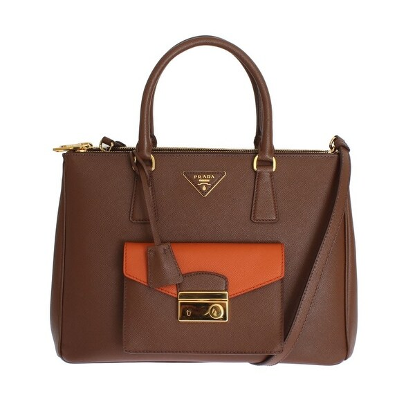 7fa1a2ecc196 Shop PRADA PRADA Saffiano Lux Bag BN2674 NZV F0QER00 - One Size ...