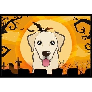 Carolines Treasures BB1810MAT Halloween Golden Retriever Indoor & Outdoor Mat 18 x 27 in.