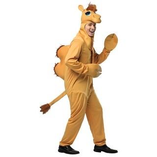 Mens Camel Halloween Costume - standard - one size