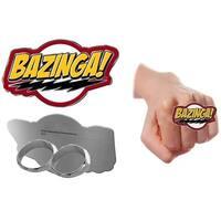 Big Bang Theory Bazinga Flash Knuckle Ring