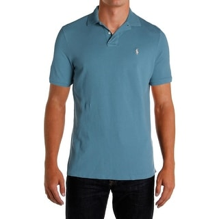 Polo Ralph Lauren Mens Polo Shirt Classic Fit Mesh Knit