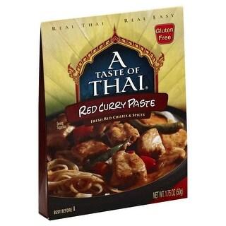 Taste of Thai Red Curry Paste - (Case of 6 - 1.75 oz)