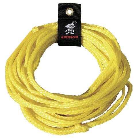 Kwik tek airhead 1,500 lb tube tow rope 50 ft. 1 rider ahtr-50
