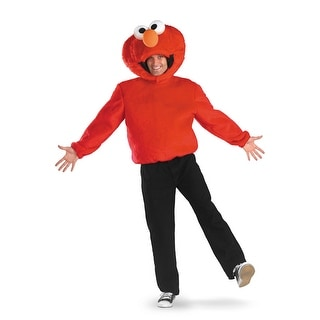 Disguise Elmo Adult Costume - Red