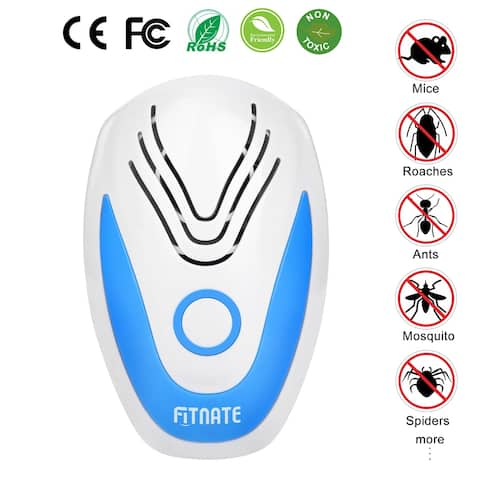 Ultrasonic Pest Repellers Electronic Plug-in Insect Mouse Repellent - SIZE