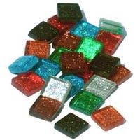 Assorted - Vitreous Glass Mosaic Tiles .5Lb