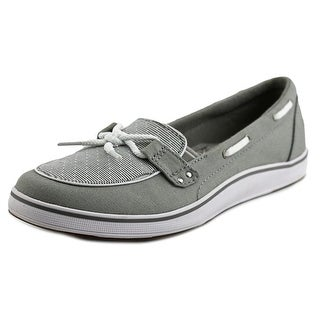 Grasshoppers Windham Moc Toe Canvas Boat Shoe