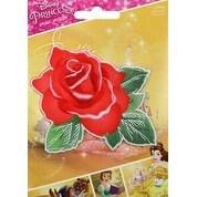 Beauty & The Beast Rose - Disney Princess Iron-On Applique