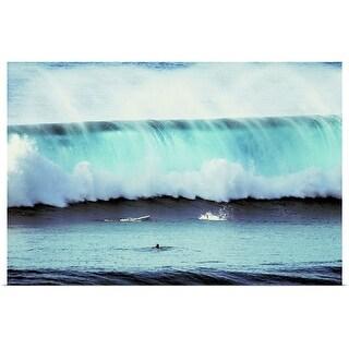 """Ocean wave"" Poster Print"
